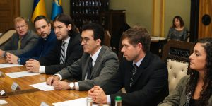 The governor of the Lviv Regional State Administration Markiyan Malsky met with Dr. Gennady Fuzailov and his colleagues