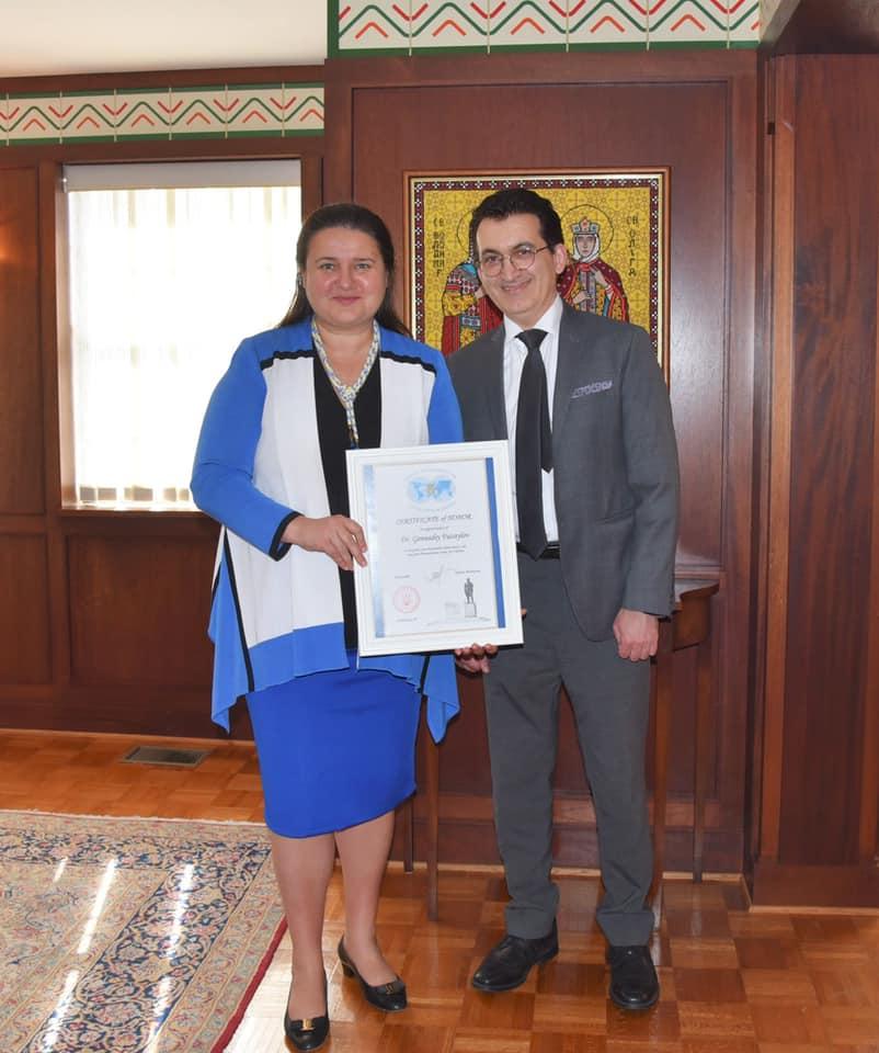 Recognition for humanitarian efforts in Ukraine